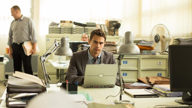 "Theo James stars in ""Backstabbing for Beginners,"" a drama."