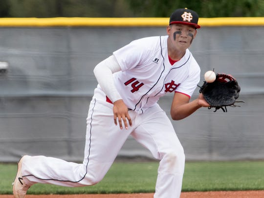 Manny Cachora is one of four Centennial Hawks to be selected for the 42nd annual Bob Ogas North vs. South Class 5A-6A Baseball All-Star Classic.