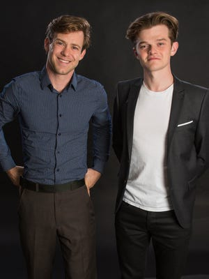 Bug Hall, left, and Robert Aramayo are two of the stars of Discovery's historical miniseries 'Harley and the Davidsons.'