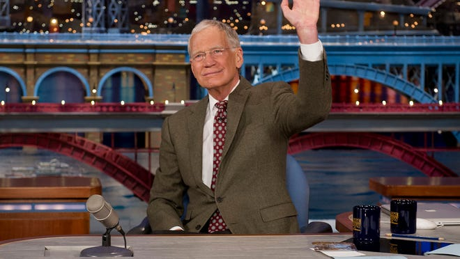David Letterman announces that he will be retiring from the LATE SHOW with DAVID LETTERMAN on the broadcast tonight, Thursday, April 3 (11:35pm-12:37am, ET/PT) on the CBS Television Network. Photo: Jeffrey R. Staab/CBS [Via MerlinFTP Drop]