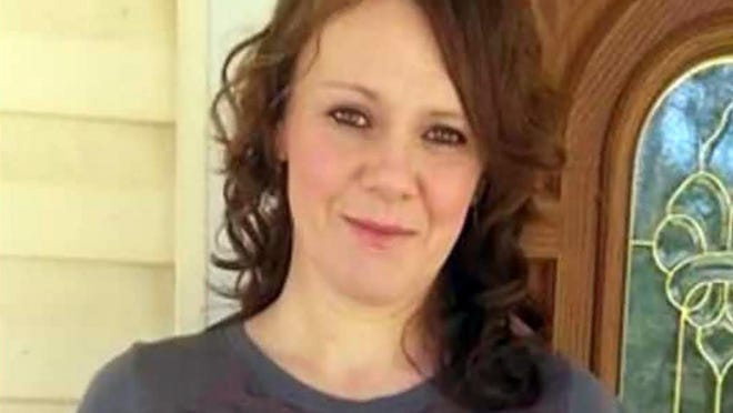 This undated photo provided by Mike Austin shows his wife Holly Barlow-Austin in Texarkana, Texas, before her 2019 death after being held in a Texarkana jail. Her family brought a federal lawsuit Wednesday, Sept, 16, 2020, against LaSalle Corrections, claiming its staff neglected Barlow-Austin's care and ignored her pleas for help as her health deteriorated and she went blind.