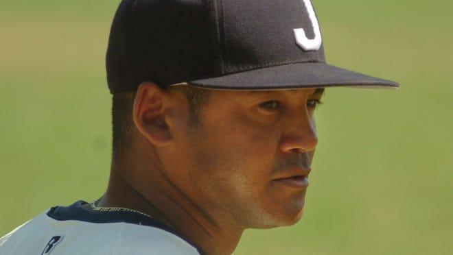 Jackson State head baseball coach Omar Johnson.