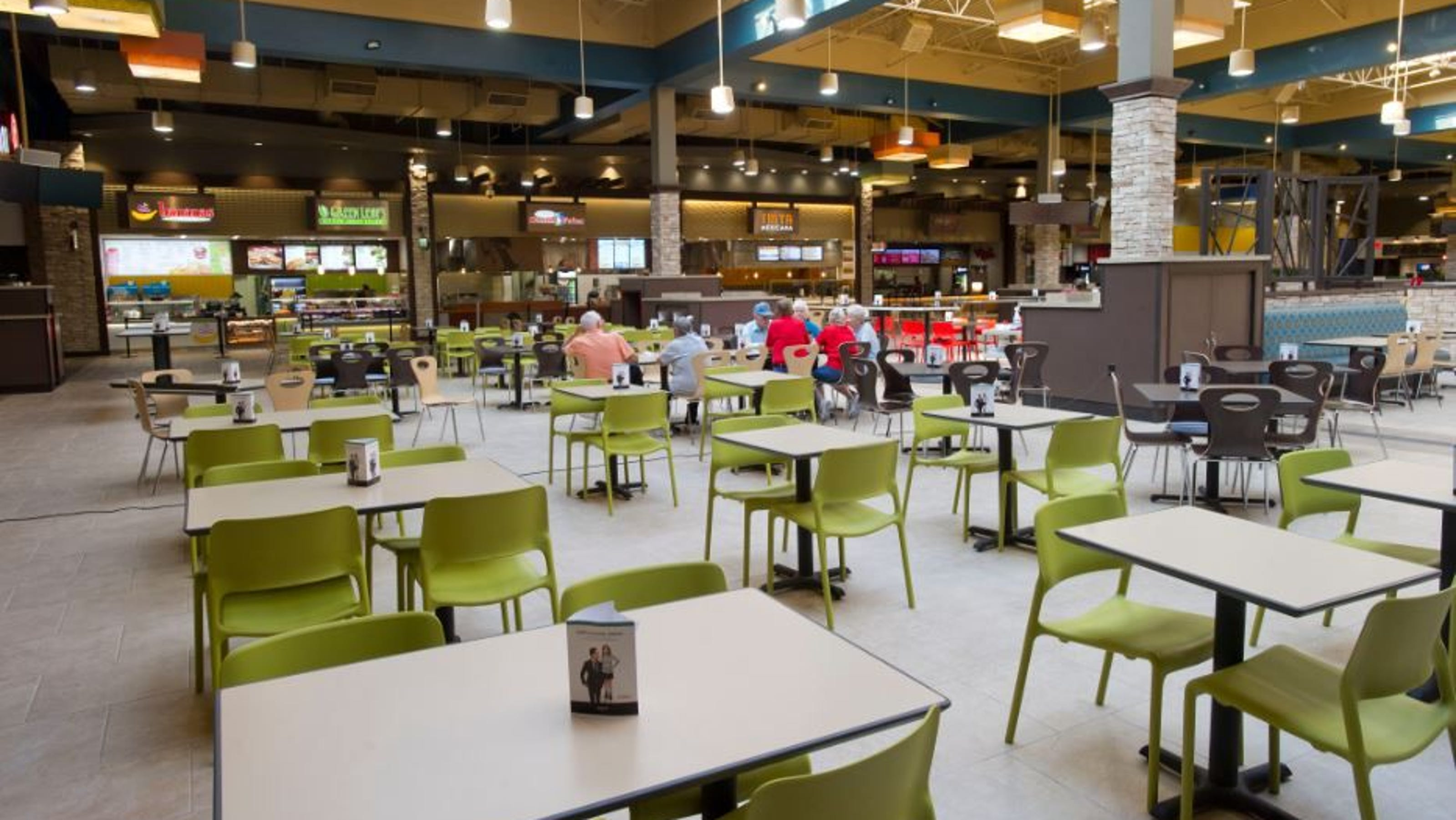 Arizona Mills Food Court Restaurants