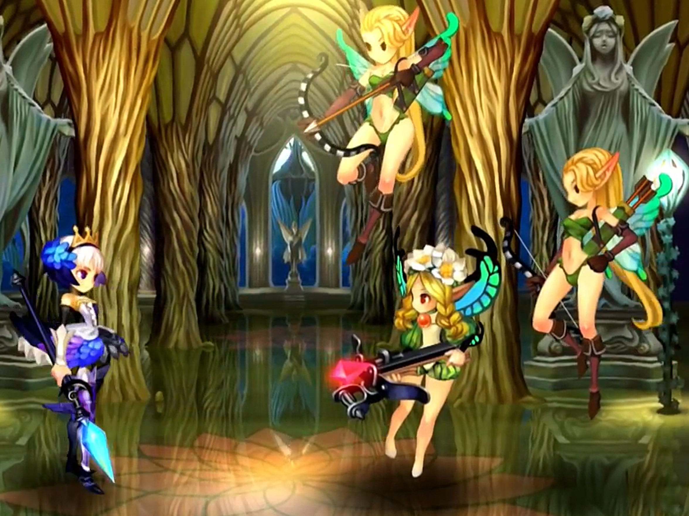 Odin Sphere Leifthrasir features gorgeous redrawn graphics.