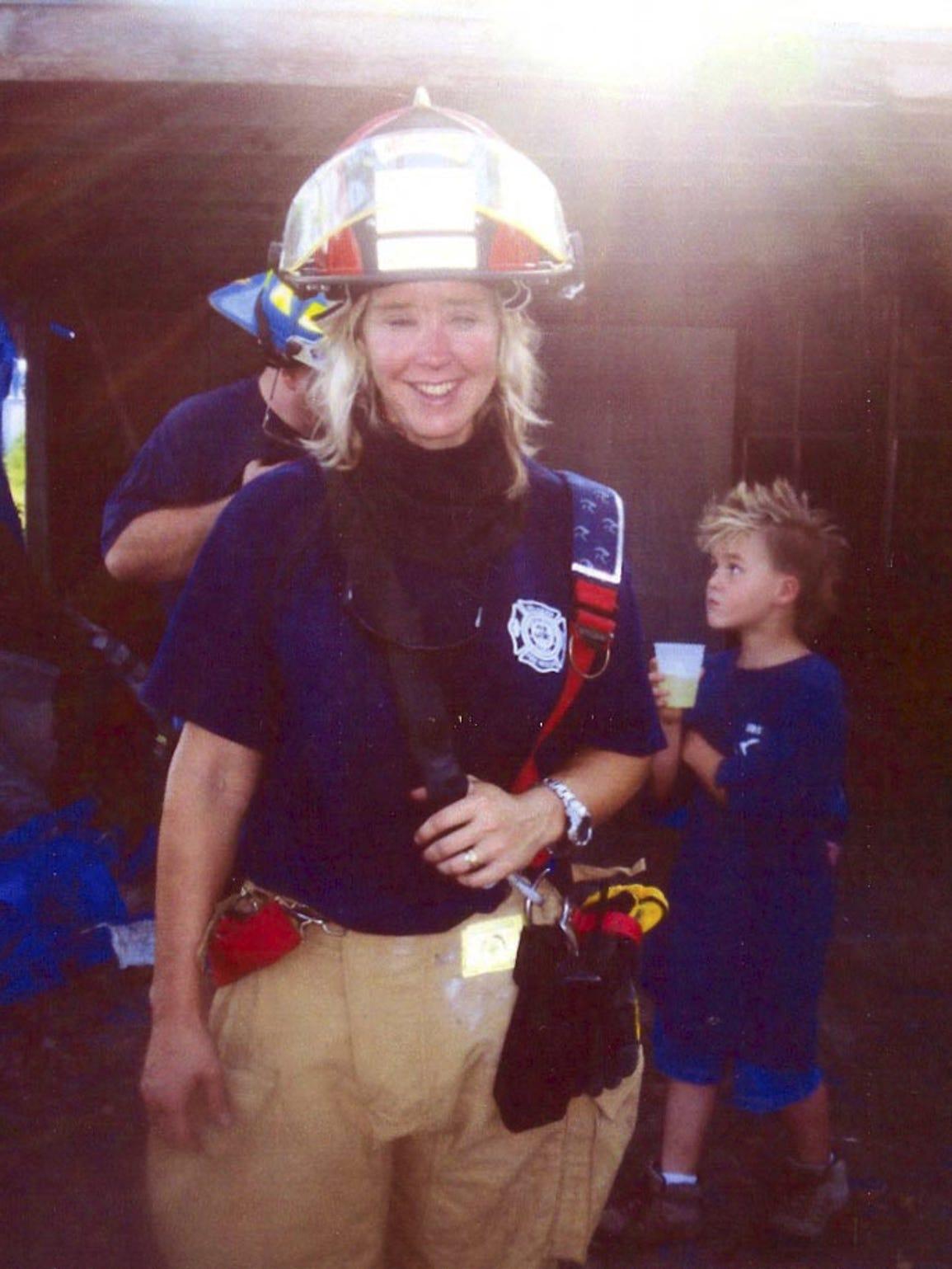 Brandy Hall,       missing firefighter