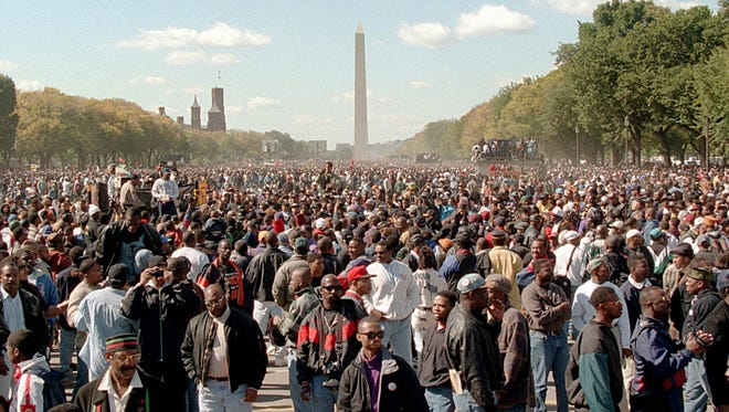 The first Million Man March, in 1995, was viewed as a turning point in the lives of young black men.