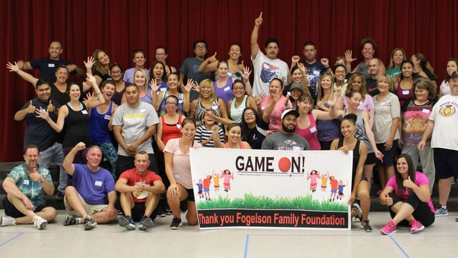 """It's """"Game On!"""" for Palm Springs Unified School District, bringing structured recess to more than 6,000 students."""