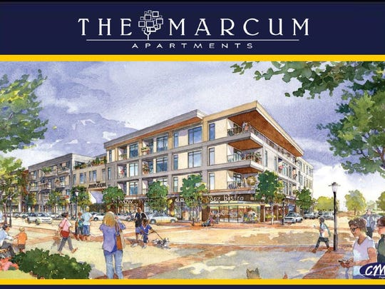 Officials expect to break ground on the Marcum Apartments