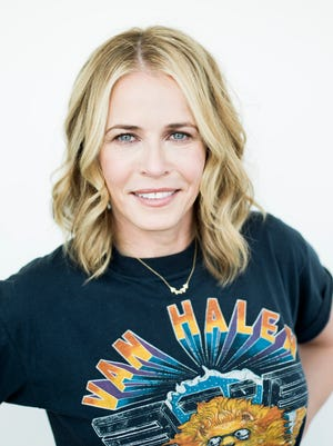 """In this April 26, 2016 photo, Chelsea Handler poses after an interview in New York. Handler is  the first host of a global talk show. The thrice-weekly """"Chelsea,"""" which launched in May, airs in 190 countries, a first for Netflix and the 41-year-old entertainer."""