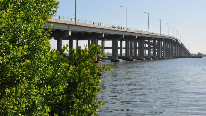 Scientists at Florida Tech plan a new, annual technical Indian River Lagoon conference Sept. 25-26. Pictured here are mangroves by the Melbourne Causeway.