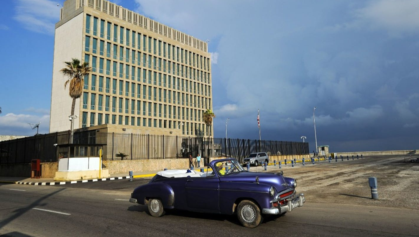 At least 16 Americans suffered negative health affects in Cuban embassy incidents