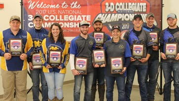 Boonville's Whalen brothers lift Southeastern Illinois into U.S. South Regional archery tournament