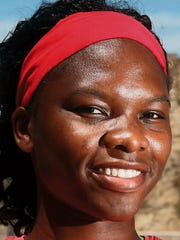 UTEP discus thrower Samantha Hall of Jamaica.