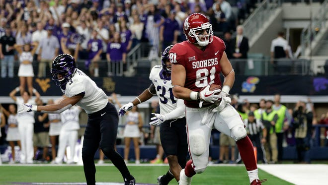 Where will former Desert Mountain and Oklahoma standout Mark Andrew go in the 2018 NFL draft?