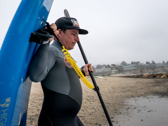 Roy Tuscany, and others who have suffered serious spinal cord injuries, turn to surfing to help them get their adrenaline rush post-injury.