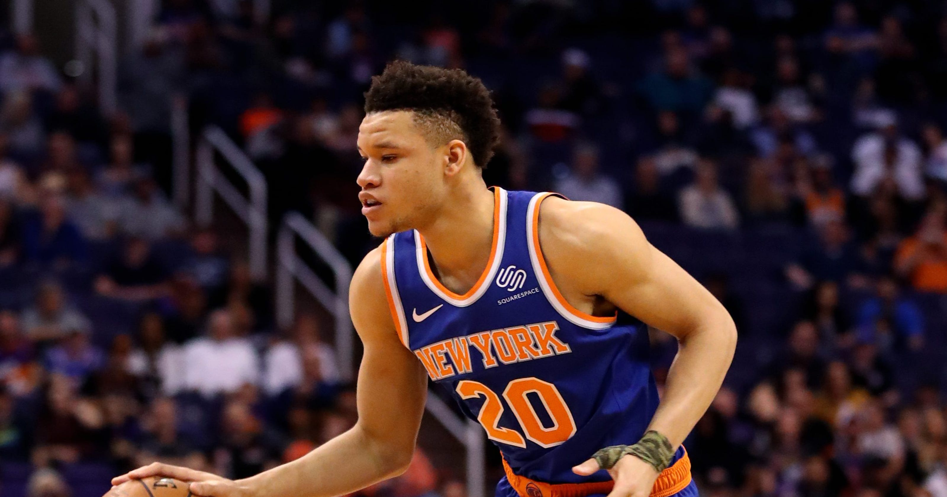 buy popular b553e 6acbf New York Knicks roster 2019-20: What to expect from Kevin Knox