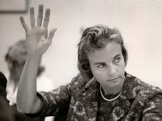 Arizona state Sen. Sandra Day O'Connor on Jan. 16,