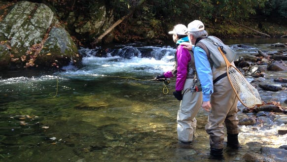 Orvis holds free fly fishing in asheville greenville for Orvis fly fishing 101