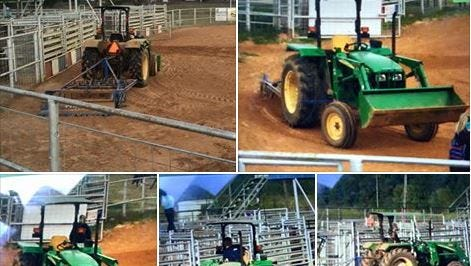 Members of Bossier Parish Riding Club are offering a reward for the return of their tractor, which was taken last week.