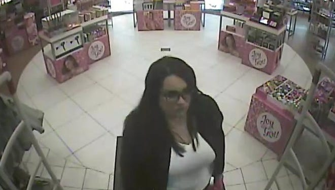 """Northern York County Regional Police are asking for help to identify this woman. They received a report that another woman's credit card was """"cloned."""""""