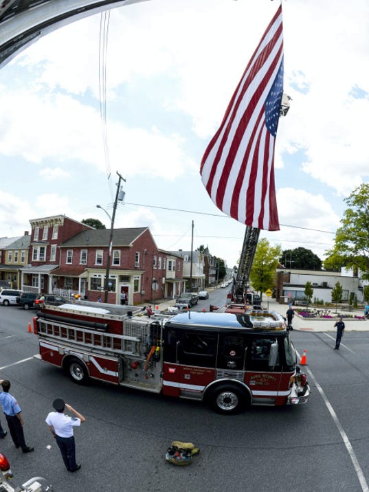 George Gettler Jr., president and fire chief for the Rural Security Fire Co., was laid to rest with full honors on Wednesday. Gettler was a 48-year veteran of the fire service in Lebanon County.