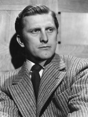 Now, that's a movie star: Kirk Douglas in his prime.