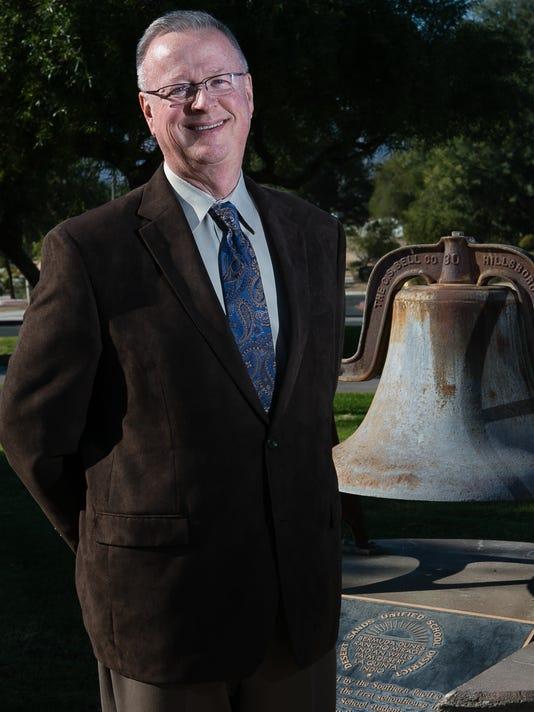 Desert Sands Superintendent Gary Rutherford