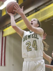 Leah Weslock made first-team All-County last season after helping Howell win division, conference and district titles.