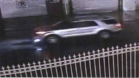 Authorities seek the Ford Explorer seen here in a hit and run of a Passaic resident.