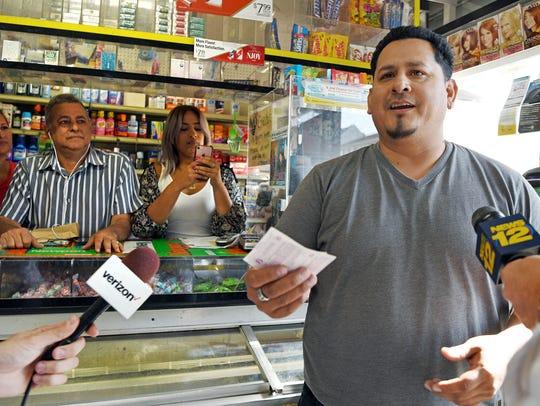 Juan Mendez-Galarza of Paterson bought a $1 million