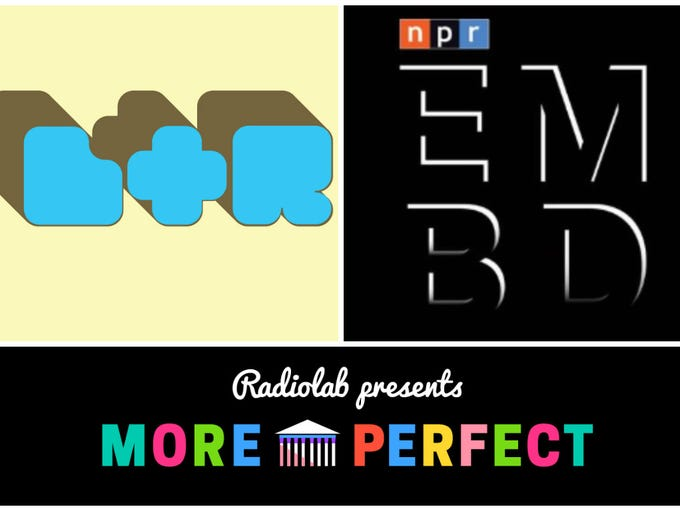 'Love + Radio,' 'Embedded' and 'More Perfect' are all
