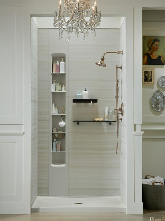 Plumber: How to avoid completely replacing shower stall tile