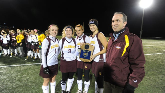 SU won countless championships during Michael Vienna's tenure as athletic director including this Capital Athletic Conference Field Hockey title in 2011.