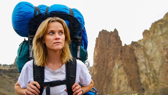 """Reese Witherspoon hikes the Pacific Crest Trail in """"Wild."""""""