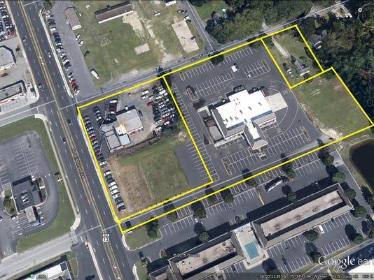 carmax aerial image