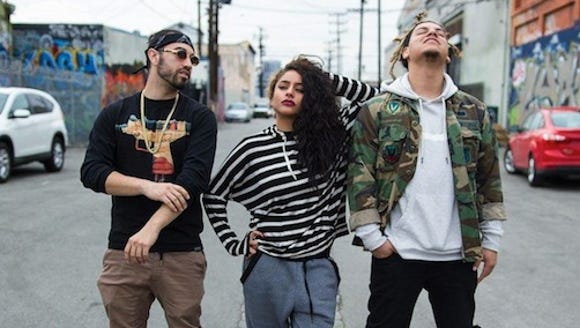 Members of LFDC, an El Paso born hip-hop group. From