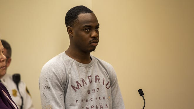 Jason Mukoro, 23, of Randolph was arrested for shooting a man in Randolph. He was arraigned in Quincy District Court on March 10, 2020 on charges including attmpted murder.
