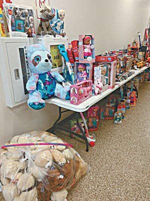 These are just some of the toys that brightened the lives of kids whose families have been effected by historic flooding.