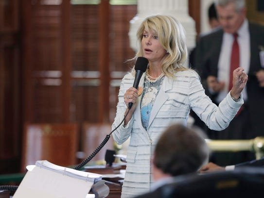 Former state senator Wendy Davis said a fellow lawmaker deliberately touched her breast early in her tenure. She told colleagues about the incident and he eventually apologized, but she said her position gave her a form of recourse not available to other women working in the Capitol.