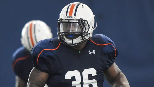 Kamryn Pettway is competing for the starting H-back job.