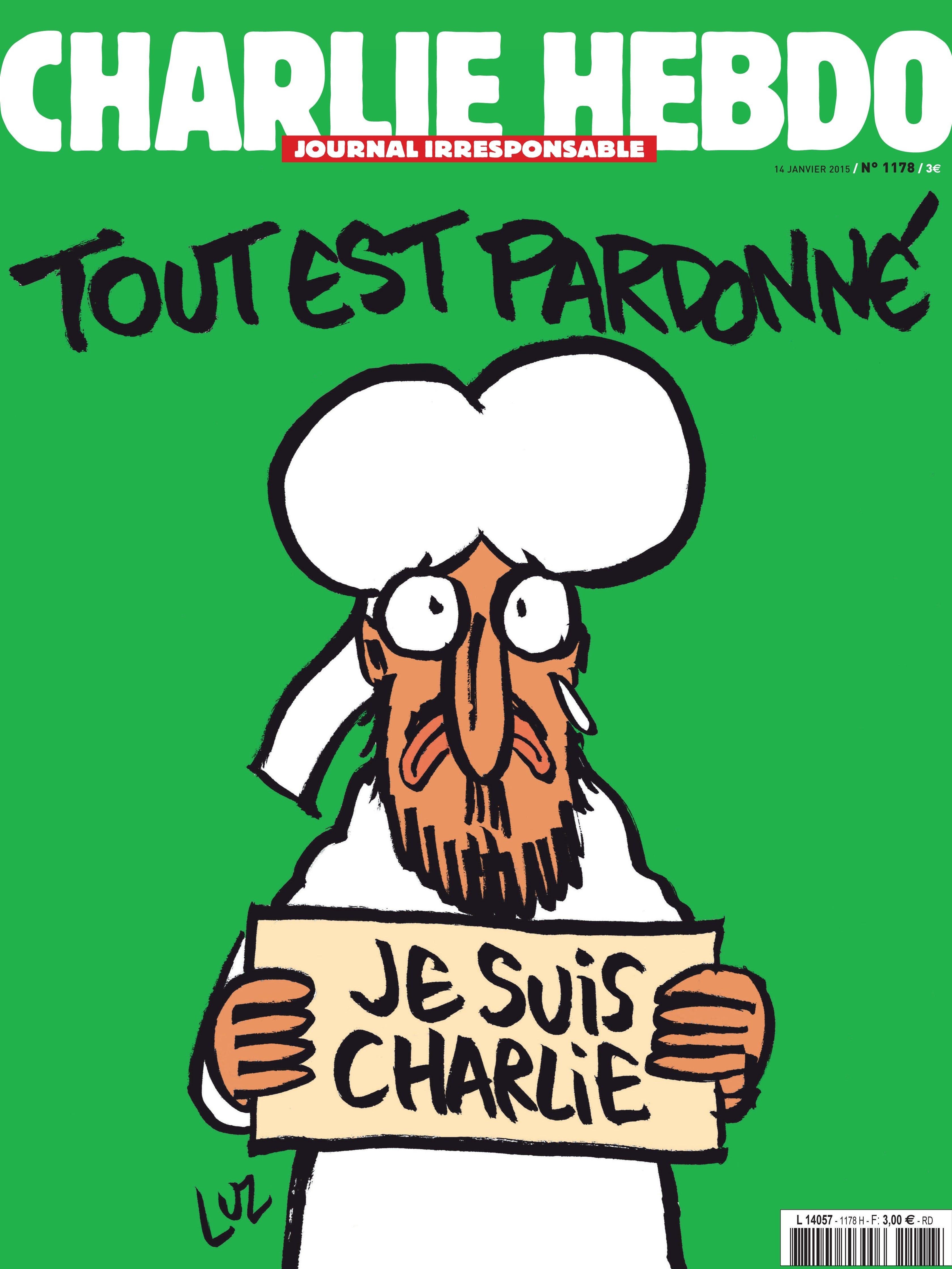 New Charlie Hebdo Cover Released