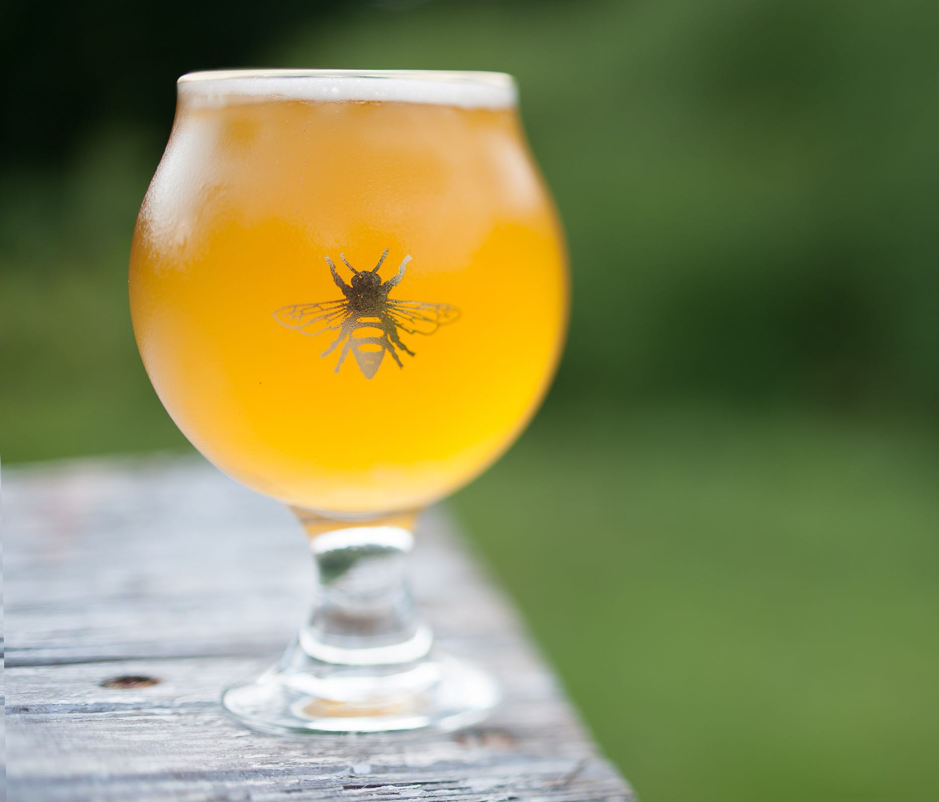 All of Plan Bee Farm Brewery's beers are crafted, in true farmer fashion, exclusively with ingredients grown in New York, including many on the property. Even the yeast is cultivated from the farm's honeycomb hives.