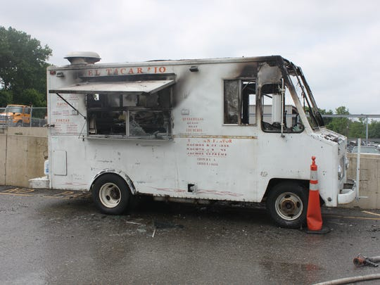 Three men — two workers and one customer — were critically injured Saturday, June 20, 2015, in a food truck fire near Pic a Part at 940 W. 16th St.