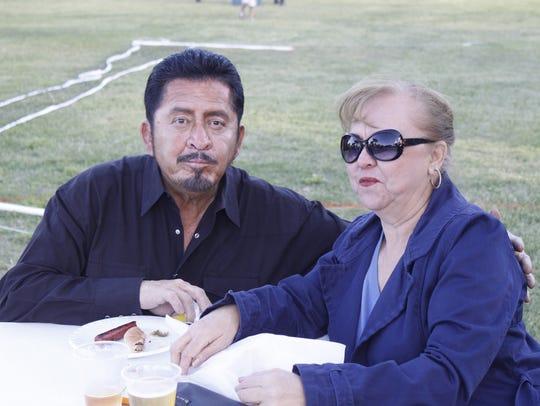Gilbert Cruz, left, and Lety Cruz