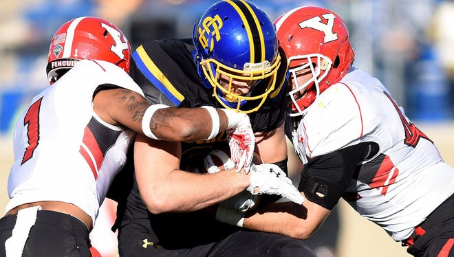 Dallas Goedert and SDSU defeated YSU 24-10 last year in Brookings