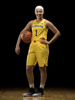 Michigan women's basketball freshman Kysre Gondrezick.
