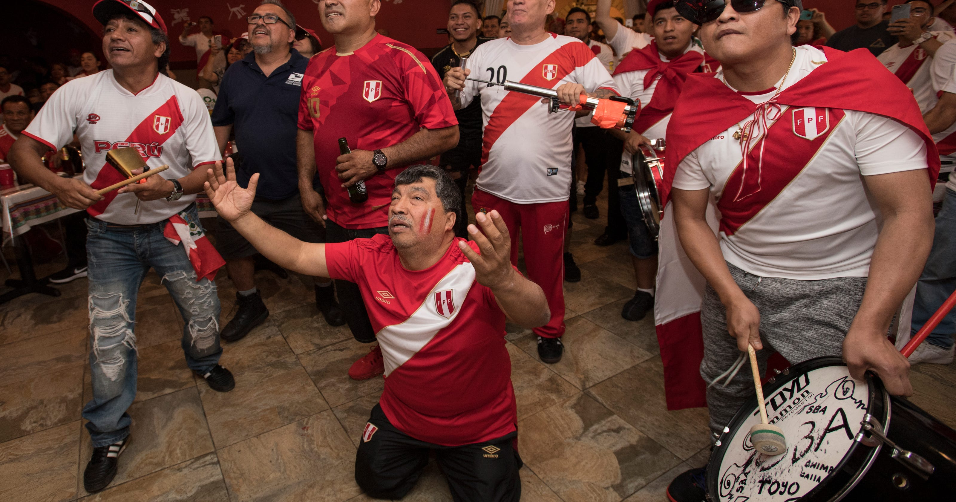 bcf8db70304 In Paterson, cheers as Peru ends 36-year World Cup drought