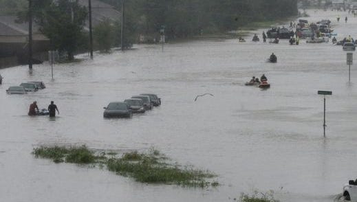 A highway in Houston