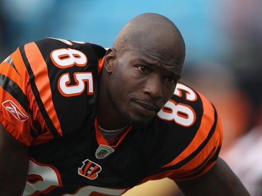 Chad Ochocinco played for the Bengals from 2001 to 2010.