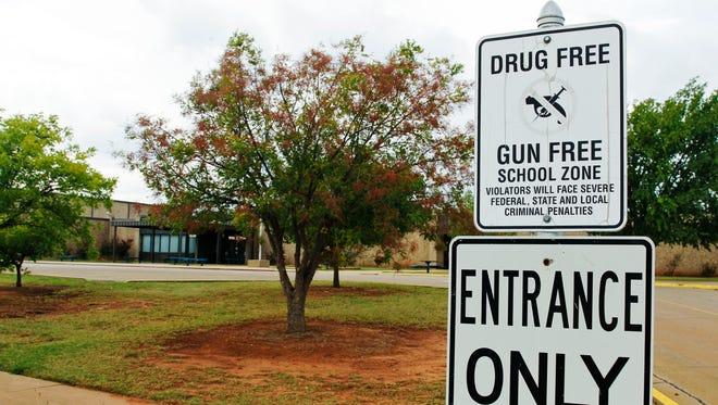 At a high school in Stillwater, Okla.